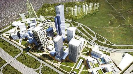 İstanbul Finans Merkezi ataşehir havadan görüntüsü