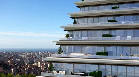 evim kadıköy projesinin kat balkonları