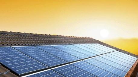 güneş enerjili çatı