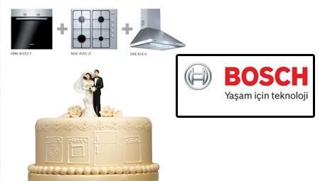 Bosch Classic ankastre seti ve düğün pastası