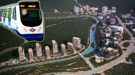 Vadi İstanbul projesinin havadan görünümü