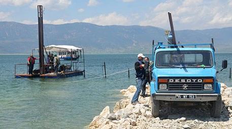 Burdur Gölü'nü halkla buluşturmak için çalışma başlatıldı