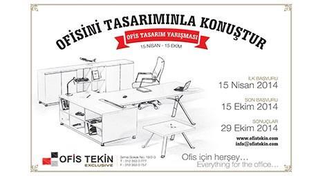 Ofisini Tasarımınla Konuştur yarışmasının afişi