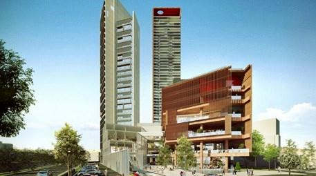 Ege Perla'da inşaat hızla devam ediyor