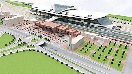 Ankara Yüksek Hızlı Tren Garı inşaatı