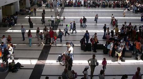 Antalya'da turist sayısı