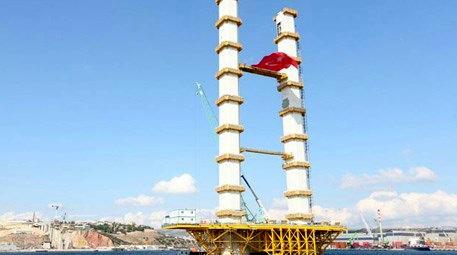 Körfez geçiş köprüsü inşaatı