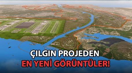 Kanal İstanbul genel görünümü