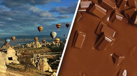 Kapadokya çikolata