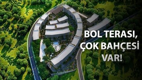 360 Kurtköy projesinin yemyeşil alanı