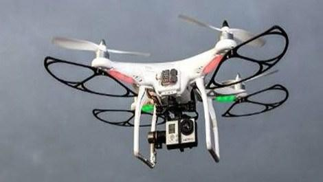 Atatürk havalimanındaki drone