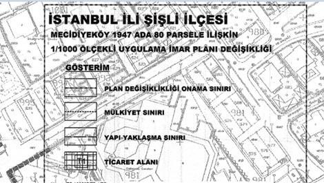 Şişli Mecidiyeköy imar planında son durum
