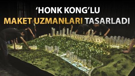 Marina Ankara'nın tasarlanan yeni maketi