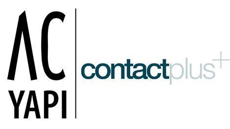 AC Yapı ve contactplus logou