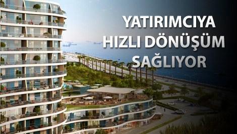Dumankaya Horizon projesinin manzarası