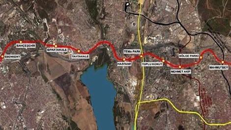 Mahmutbey-Bahçeşehir-Esenyurt Metrosu