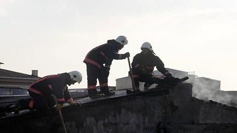 bayrampaşa'daki tekstil atölyesinde yangın