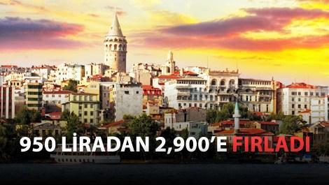 İstanbul'da kira fiyatları uçtu!