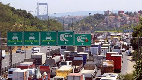 Köprü ve otoyollardan 512.3 milyon liralık gelir!