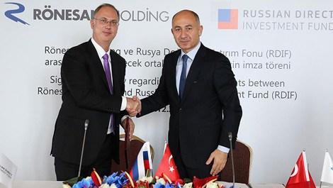 Rusya Yatırım Fonu ile Rönesans arasında iş birliği