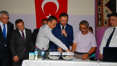 TOKİ Nevşehir projesinde 300 konutun kuraları çekildi
