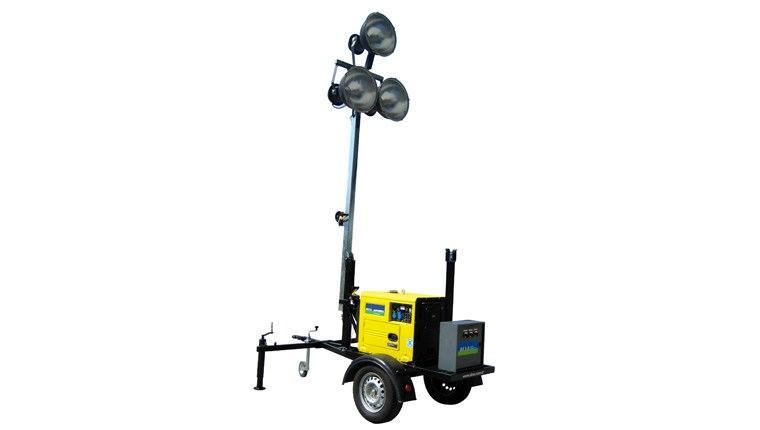 mobil aydınlatma kulesi