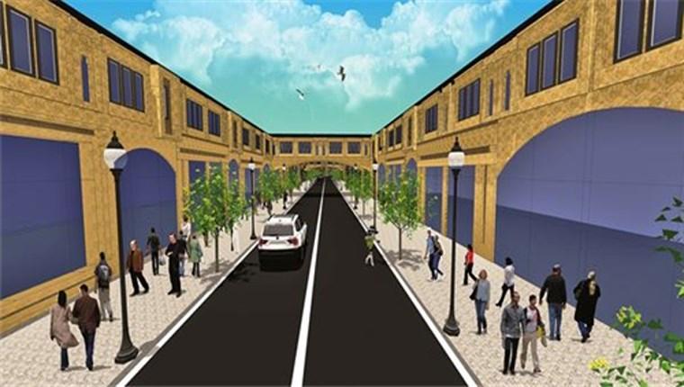 sakarya serdivan ilçesindeki cadde 54 projesi