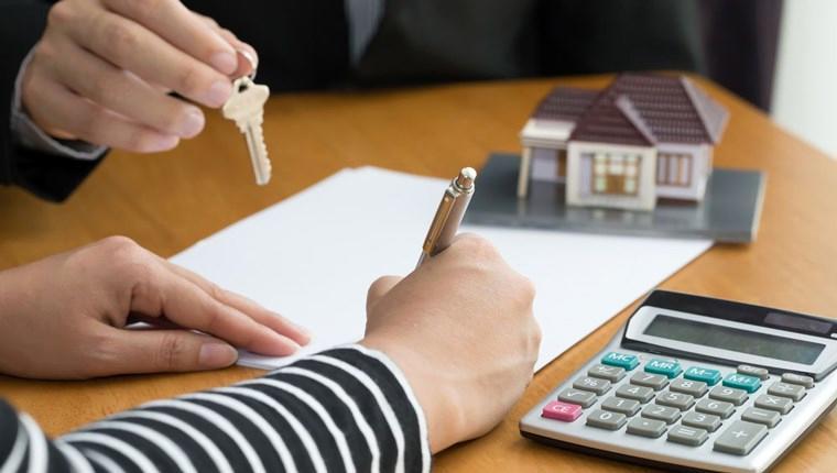 konut kredisi kullanım oranını anlatan bir kare