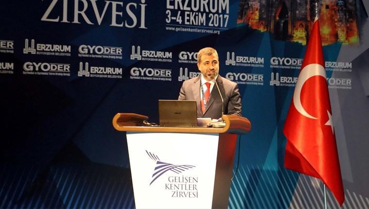 Erzurum'da 8. Gelişen Kentler Zirvesi düzenlendi