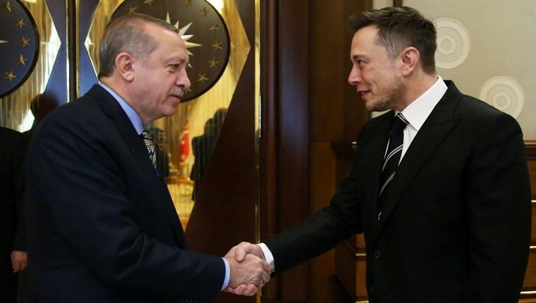 teslanın kurucusu elon musk ile cumhurbaşkanı recep tayyip erdoğanın buluşması