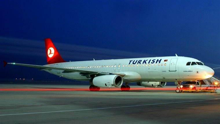 türk havayolları uçağı