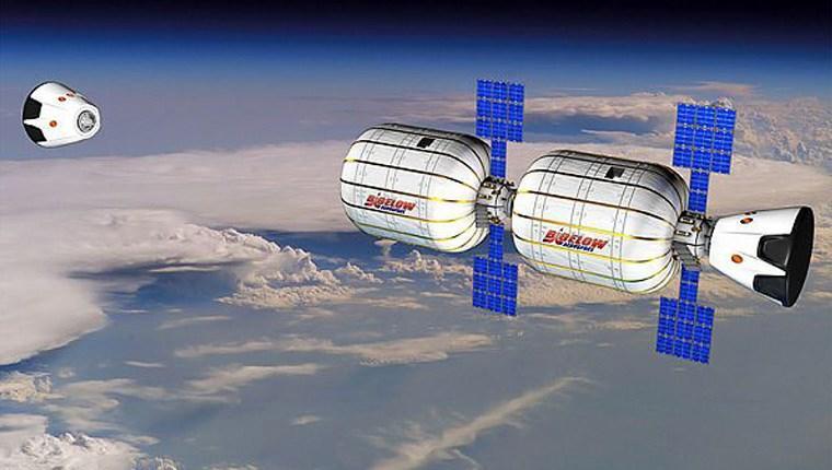 uzay oteli,  açılıyor