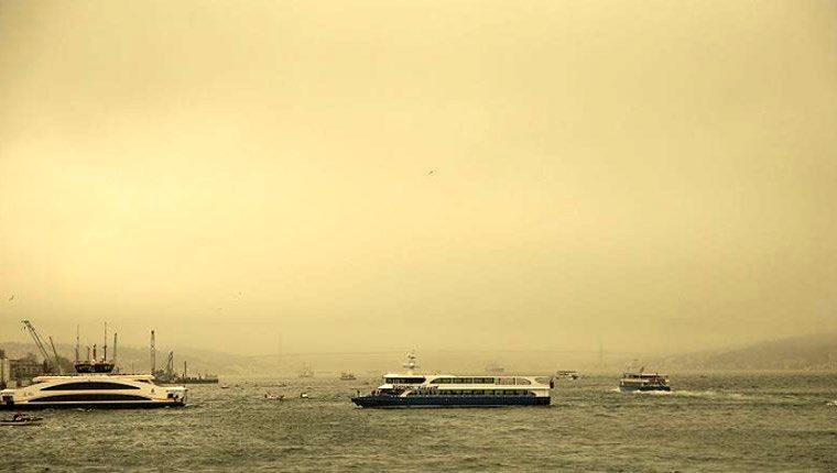 havadaki toz etkisi