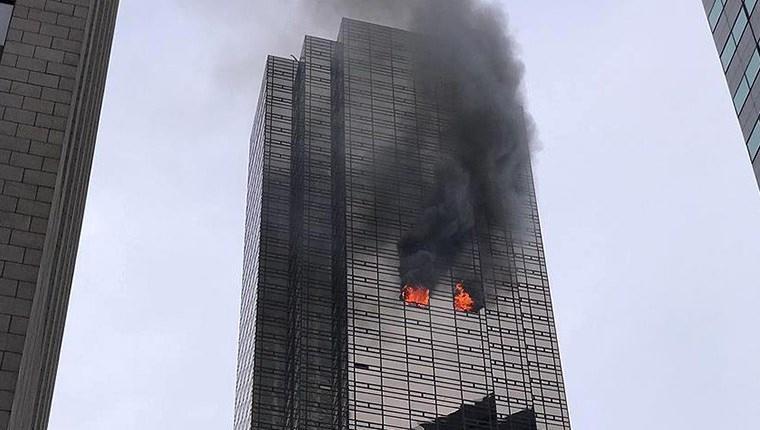 newyork trump tower yangın