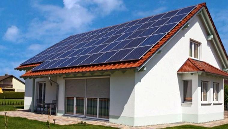 çatıda elektrik üretimi