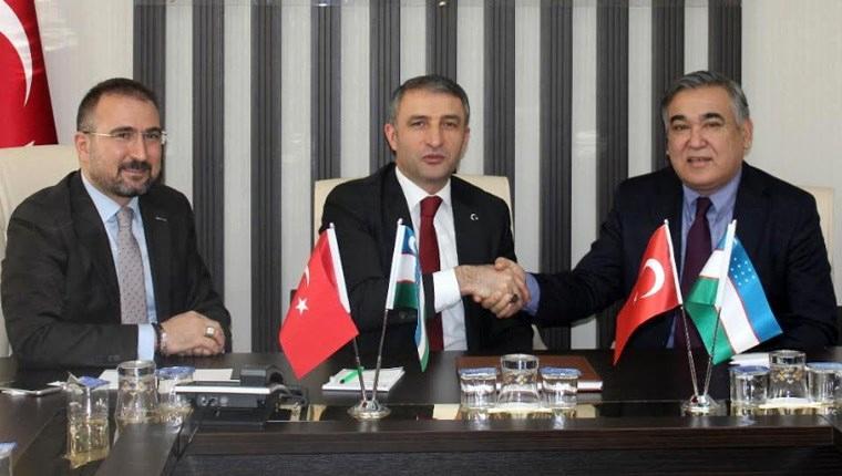 Özbekistan'dan Türk müteahhitlere davet
