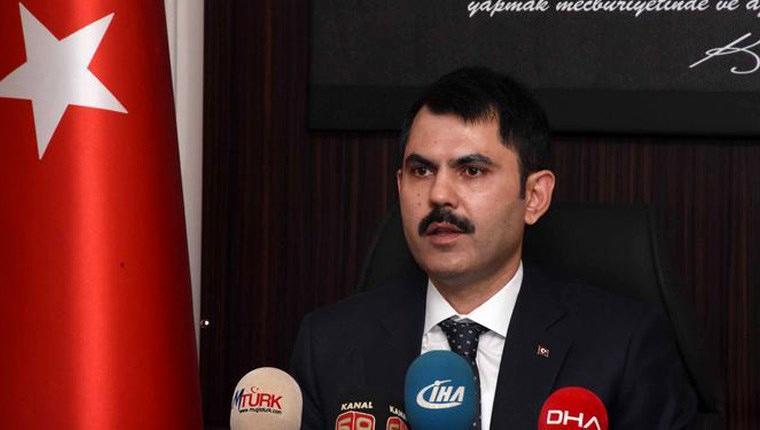 Çevre ve Şehircilik Bakanı Murat Kurum İmar Barışı