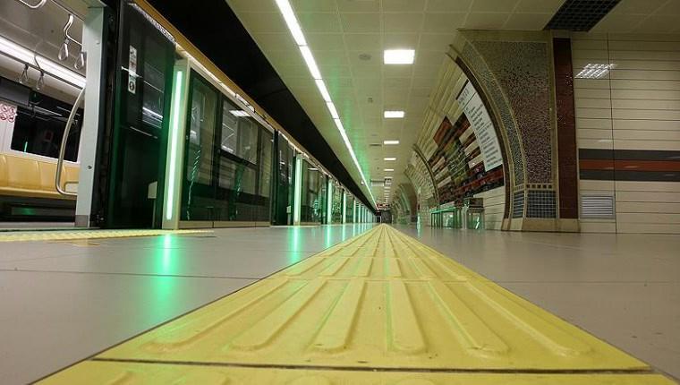 Yenikapı-Hacıosman metrosu