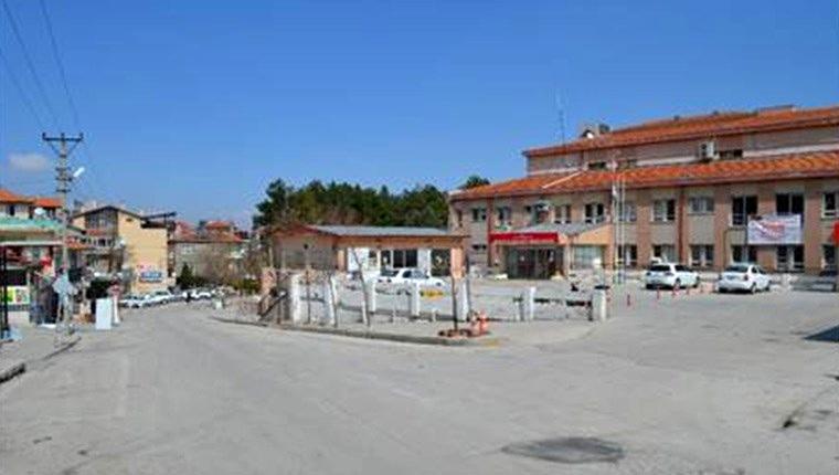 Isparta'da eski devlet hastanesi