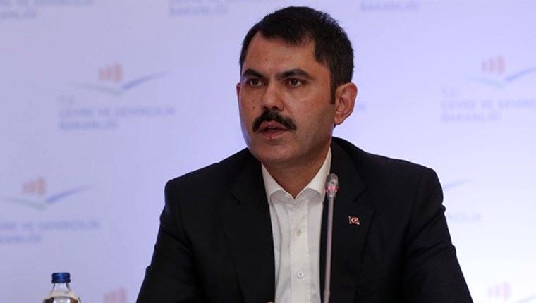 Çevre ve Şehircilik Bakanı Murat Kurum