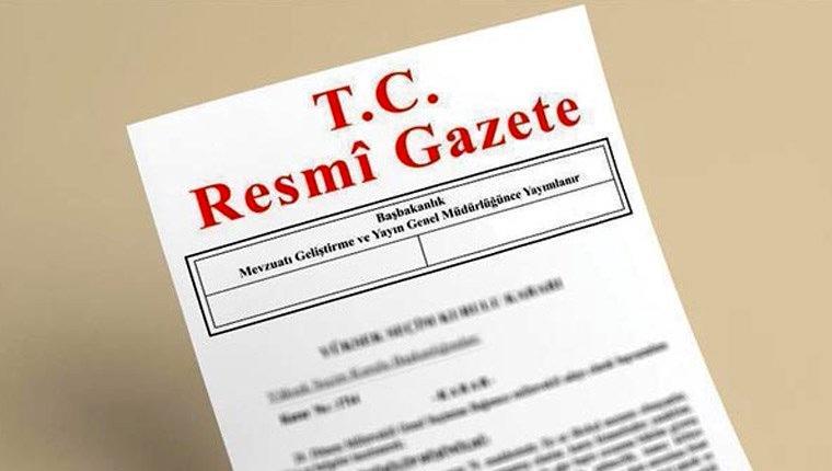yapı kayıt belgesi resmi gazete