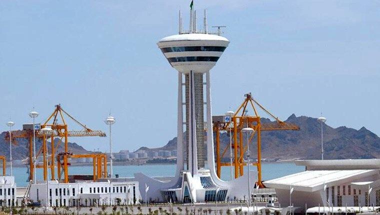 türkmenbaşı limanı
