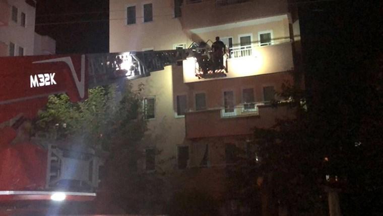 bursa 5 katlı bina boşaltıdı