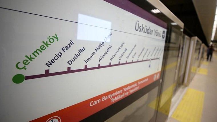 Üsküdar-Ümraniye-Çekmeköy metrosu