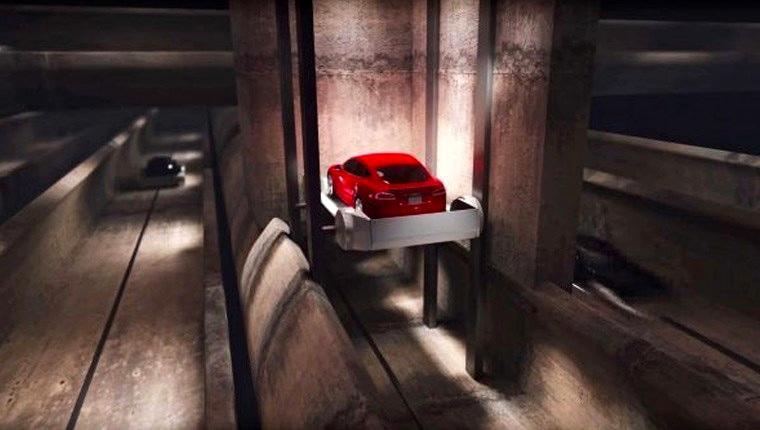 elon musk yer altı tünel projesi