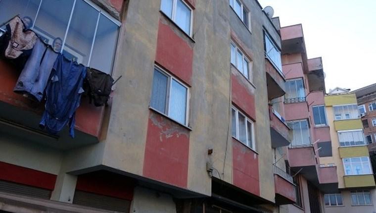 trabzonda tahliye edilen bina