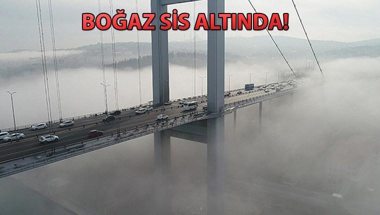 Boğaz'da yüzlerce gemi geçiş için bekliyor!