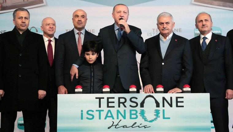 tersane istanbul temel atma töreni
