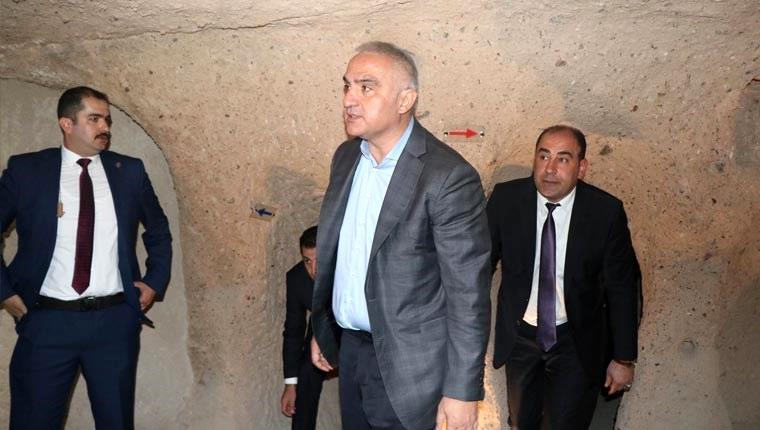 Kültür ve Turizm Bakanı Mehmet Nuri Ersoy, Nevşehir