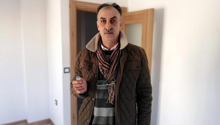 Kartal'da yeni yapılan binaların sakinleri anahtarlarını aldı